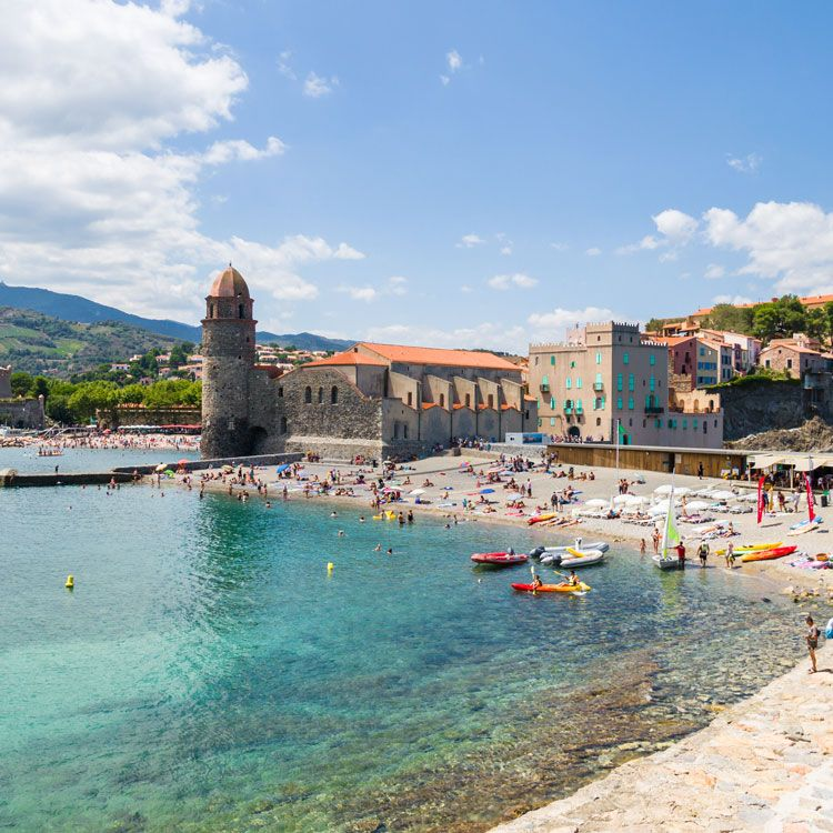 Collioure France Womenshealthmag Sex And Love Most Romantic Vacation Spots Slide 4