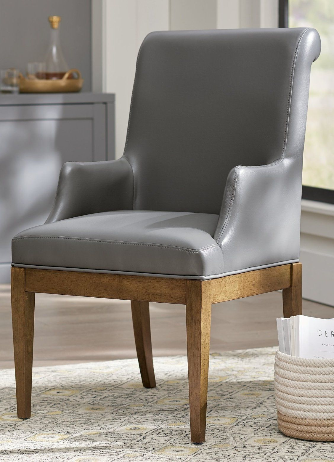 Penelope Arm Chair Grandin Road Black Dining Room Chairs Chair Dining Room Arm Chairs