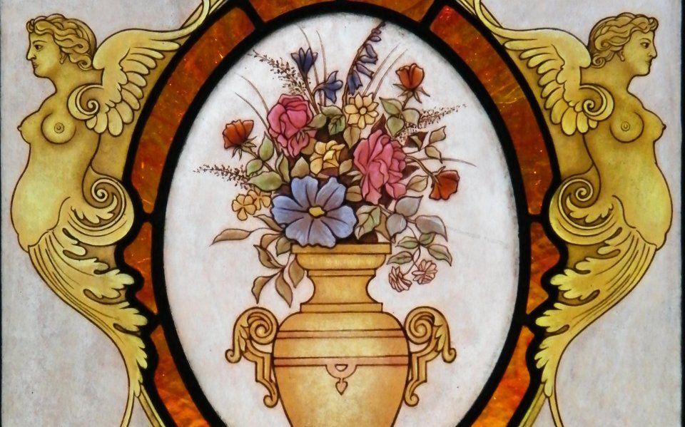 Vetrate Artistiche Lavorazione Artigianale Pittura Su Vetro