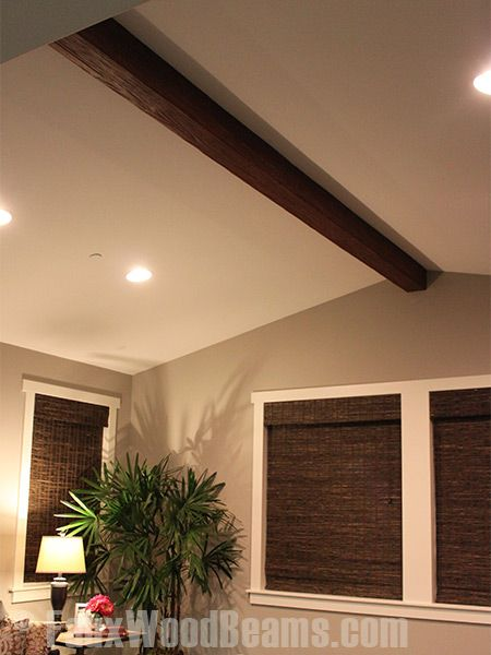 Multitasking Install Faux Wood Beams And Cook Faux Ceiling