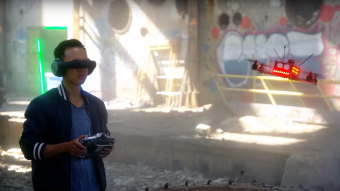 New Quadcopter Drone Racing Sport on the Rise, 'The Sky is
