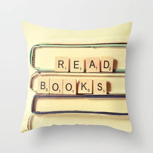 Read Books Throw Pillow