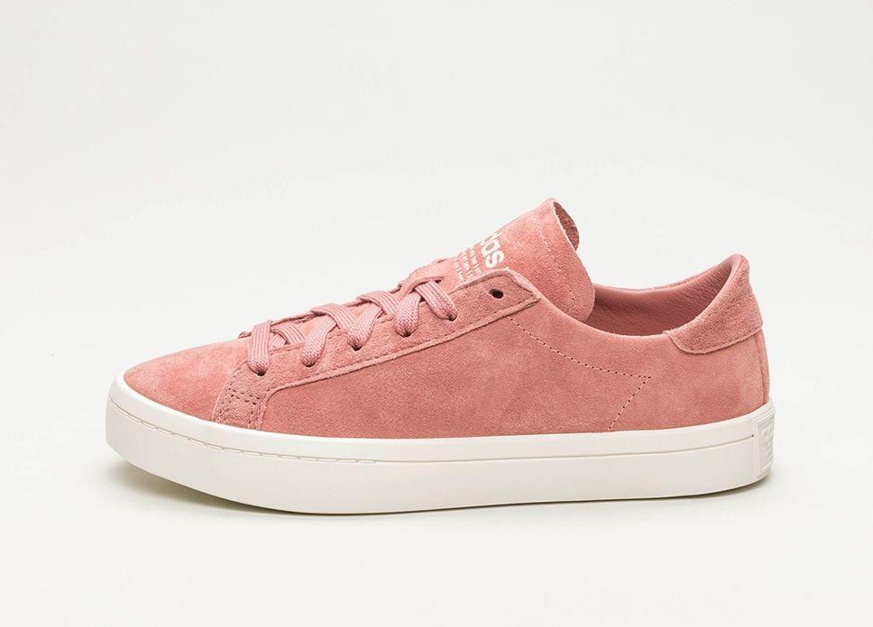 adidas Court Vantage W (Ash Pink / Off White / Ash Pink ...