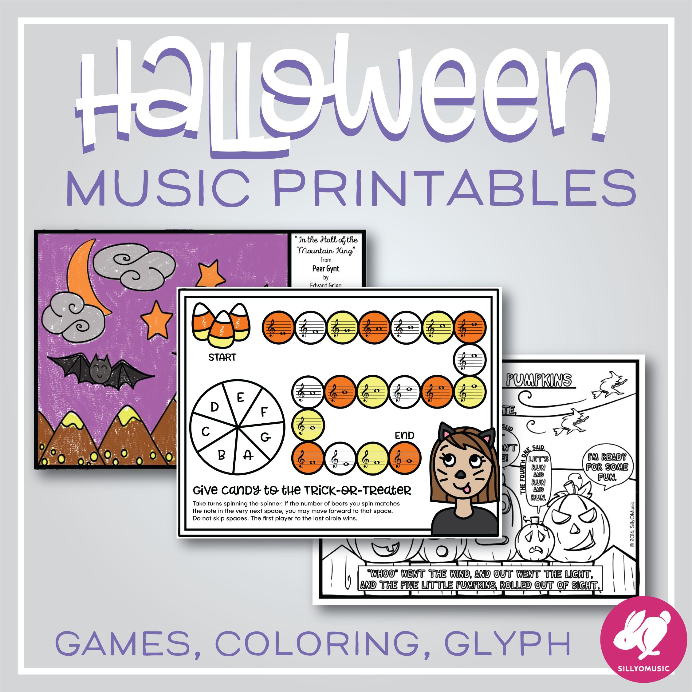 Halloween Music Activities