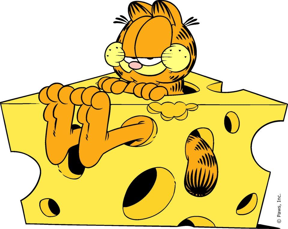 Cheese Head Cats For My Lizard Garfield Cartoon Garfield Pictures Garfield And Odie