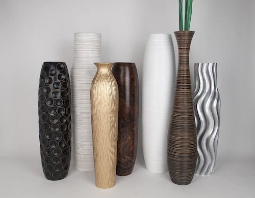 buy decorative floor vases online leewadee - Decorative Floor Vases