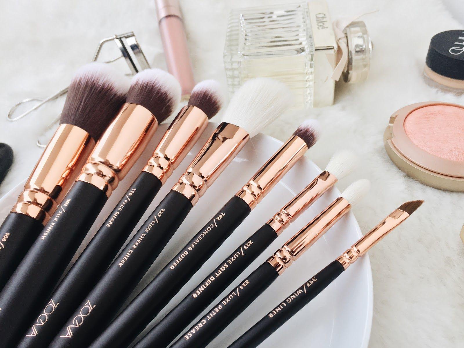 Review ZOEVA Rose Golden Luxury Set Vol. 1 Makeup