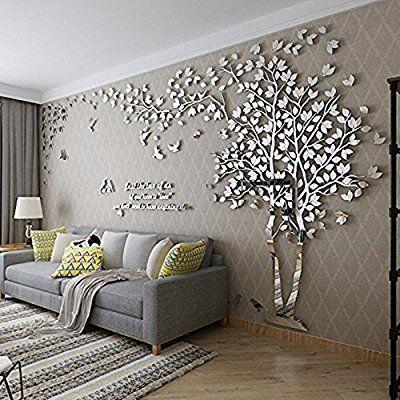 Diy 3d riesiger baum paar wandtattoos wandaufkleber for Dekoration wohnung amazon