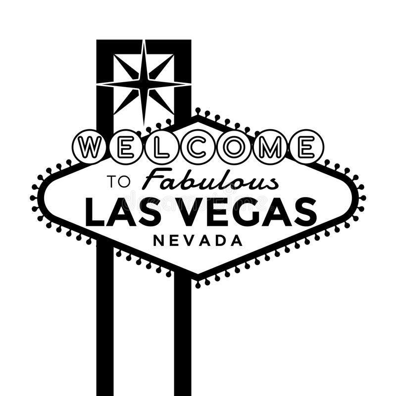 Welcome To Las Vegas Sign Vector Las Vegas Sign Silhouette Isolated On White Affiliate Sign Vegas Las Vector Las Vegas Sign Vegas Sign Las Vegas