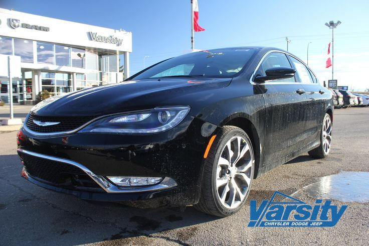 Varsity Chrysler Dodge Jeep In Calgary Has A Strong And Committed Sales Staff With Many Years Of Experience In Satisfying Our Customers Chrysler 200 Jeep Cars Chrysler Dodge Jeep