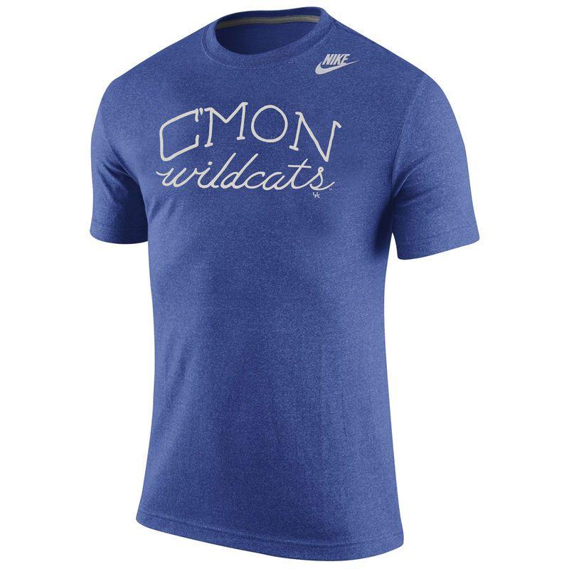 Kentucky Wildcats Nike Marled Local Team Vibe T-Shirt - Royal