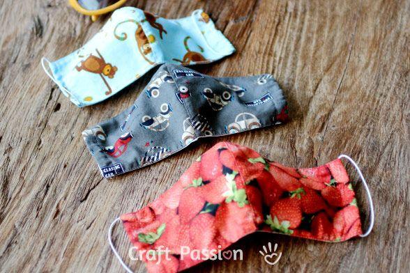 Face Mask Pattern - Free Sewing Patter | Face masks, Sewing patterns ...