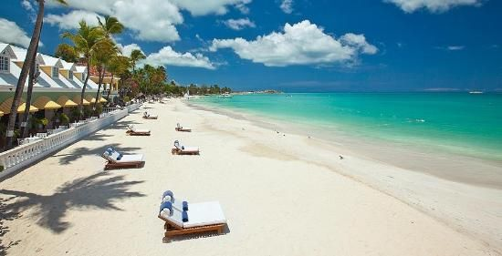 Sandals Grande Antigua Resort Bahamas Beach Perfect Place To Read