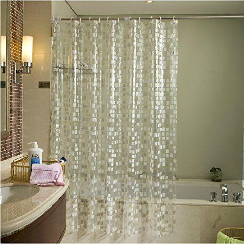 Eforgift Eco Friendly 14 Gauge Pvc Shower Curtains Mildew