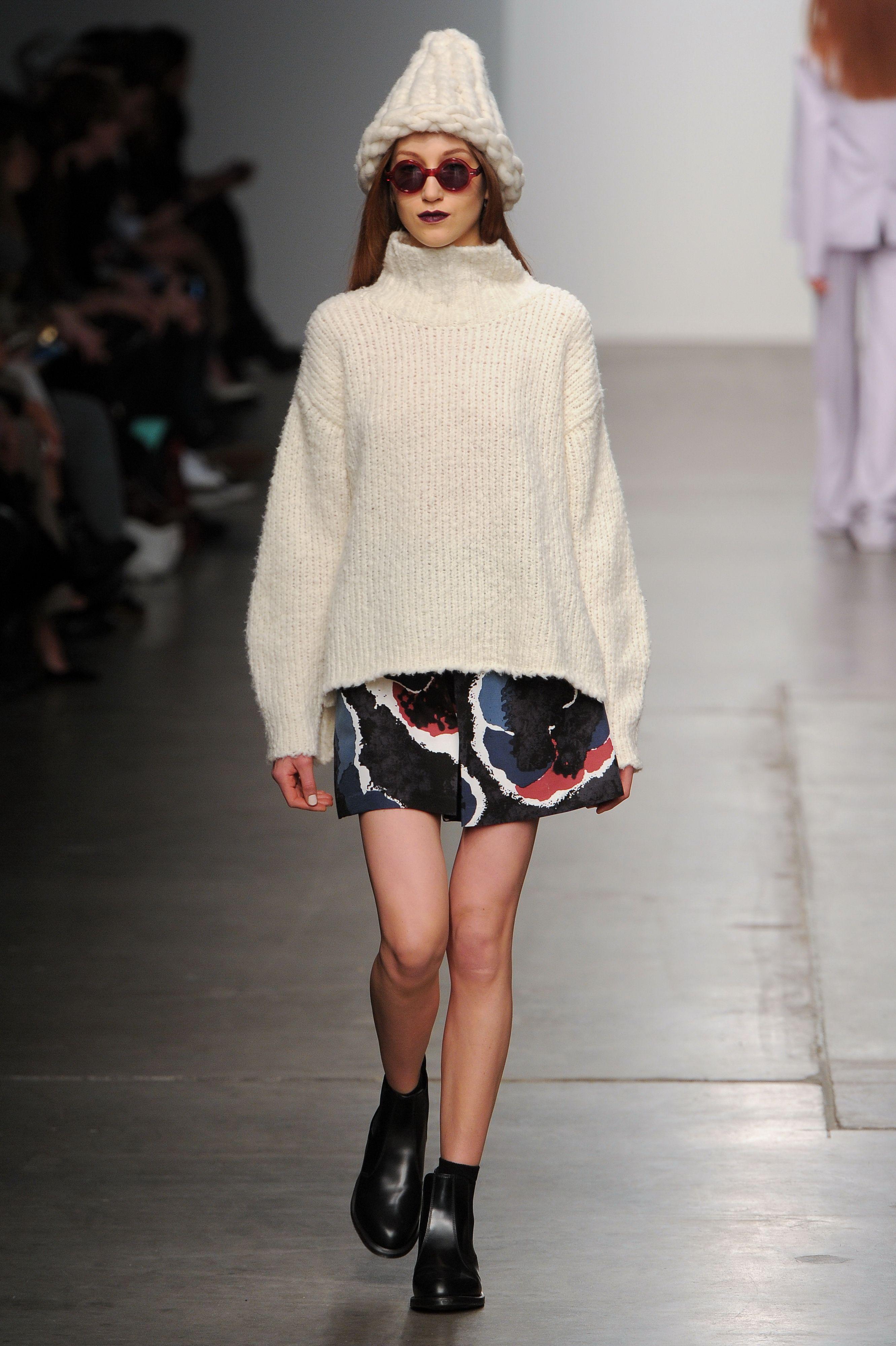Timo Weiland #NYFW #AW15 #NewYork #NewYorkFashionWeek #FashionWeek #Fashion #style #designer #catwalk #womenswear #fall2015