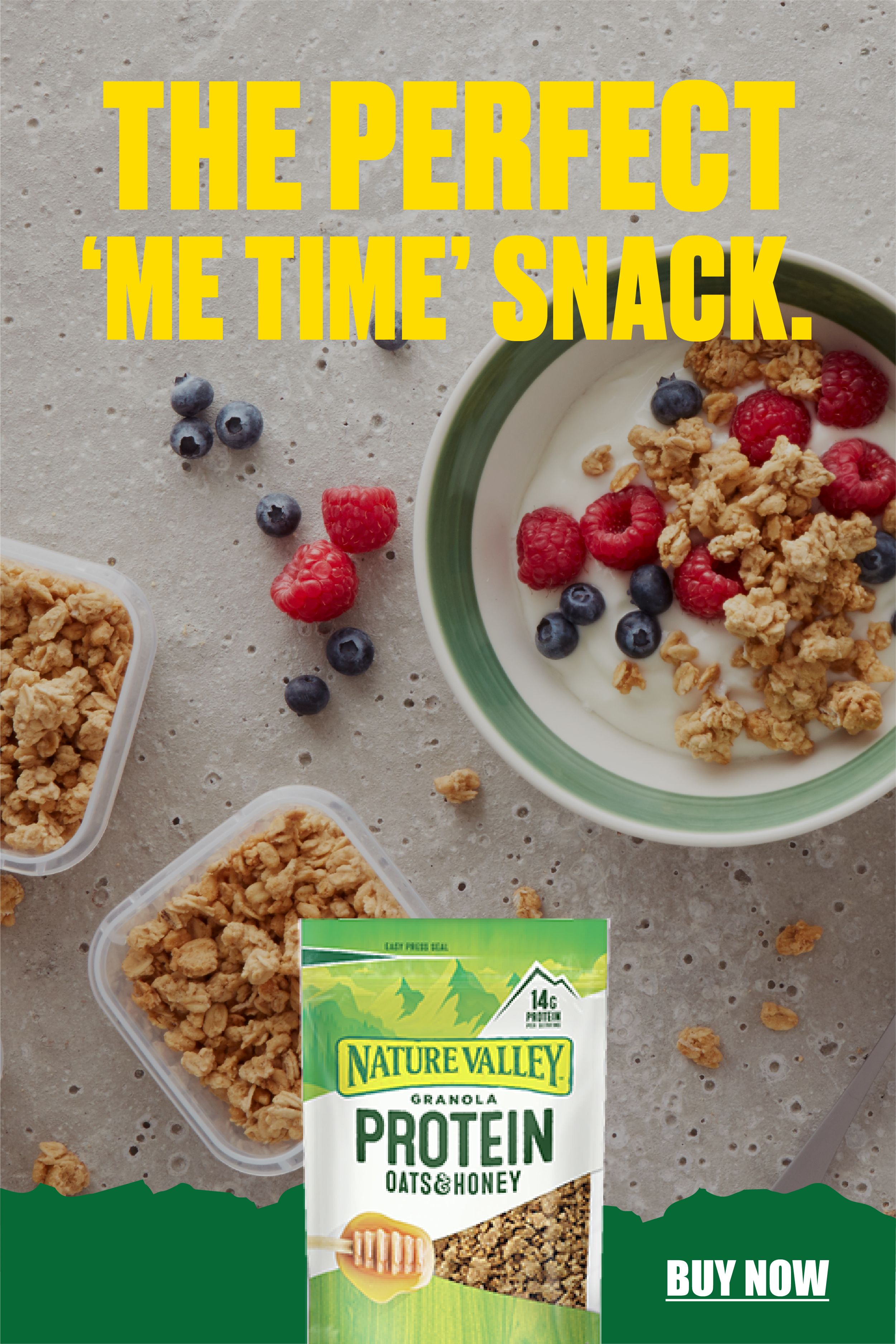 Nature Valley Protein Oats & Honey Granola in 2020