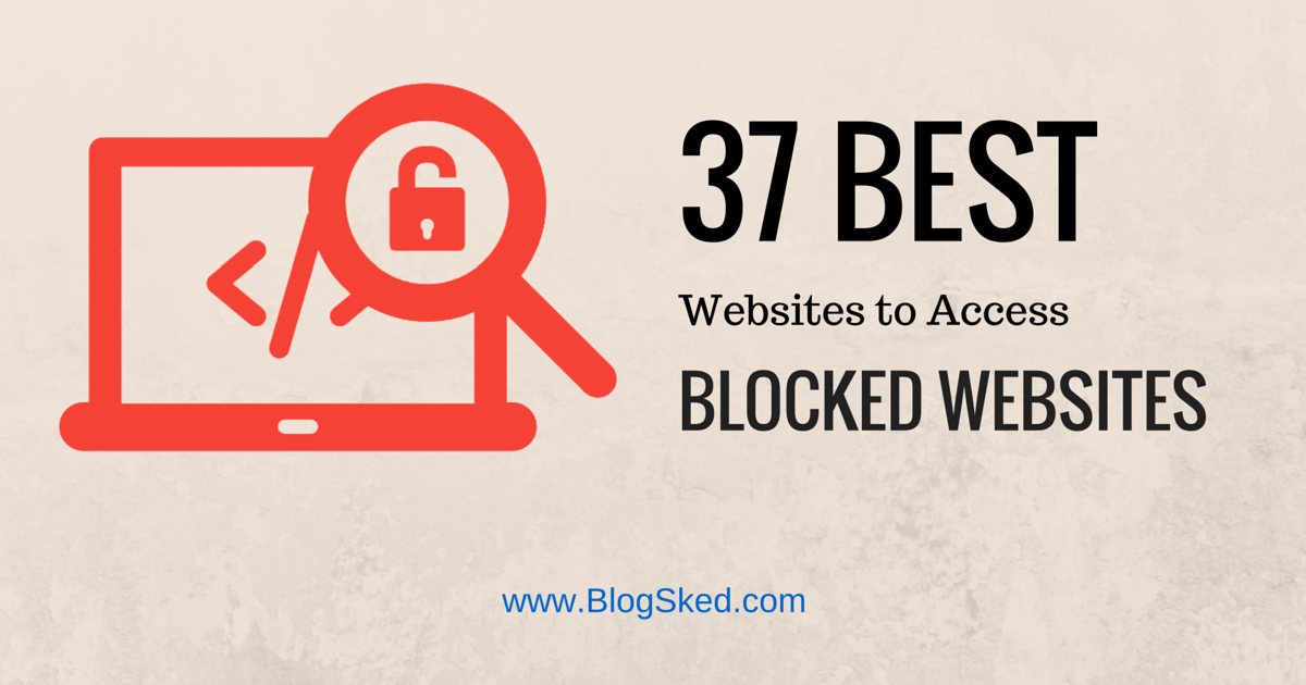 How To Open Blocked Sites Without Proxy Or Vpn