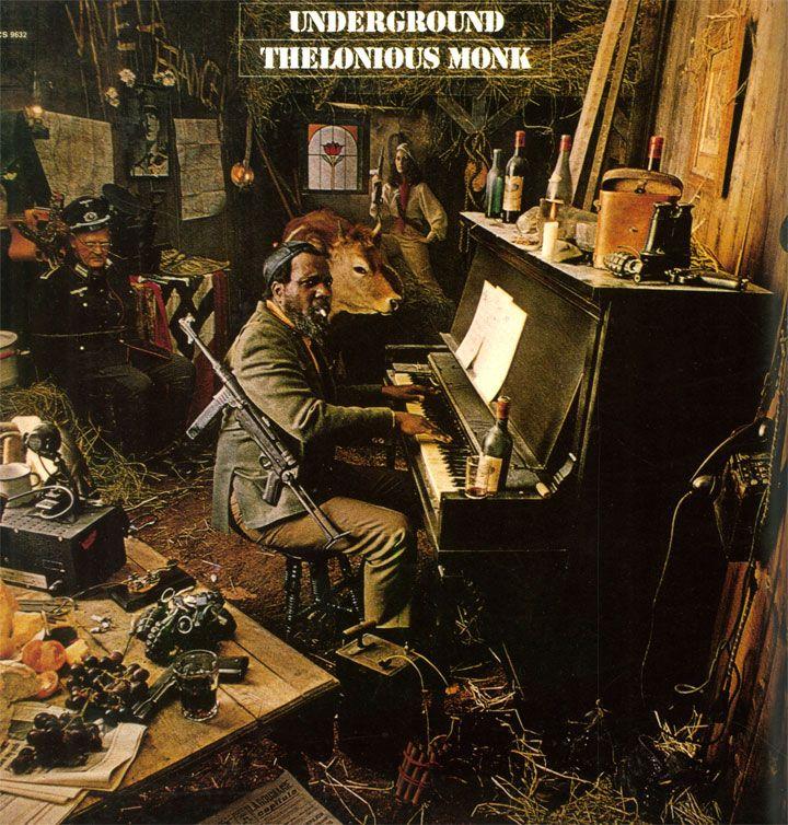 """Thelonious Monk: Underground. Columbia CS 9632 12"""" LP 1968"""