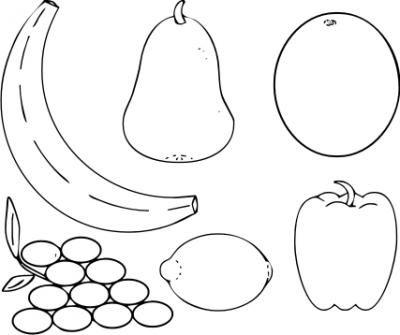 Ausmalbilder Obst Und Gemuse 06 Obst Und Gemuse Malvorlagen Fur Kinder Obst
