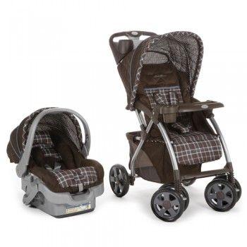 Eddiebauer Infant Car Seat And Stroller Brown Adventurer Travel