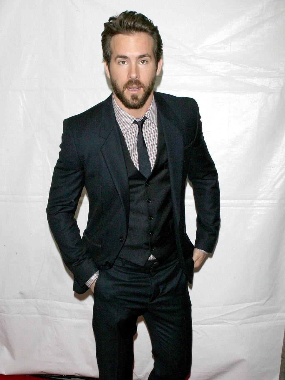 Ryan Reynolds Ryan Reynolds Style, Beard Suit, 3 Piece Suits, Three Piece  Suit 89897ff683