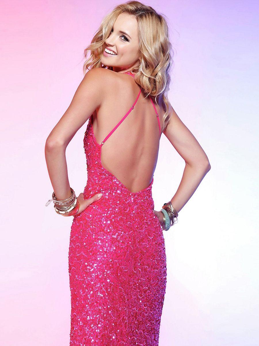 open back Prom Dress   Prom   Pinterest