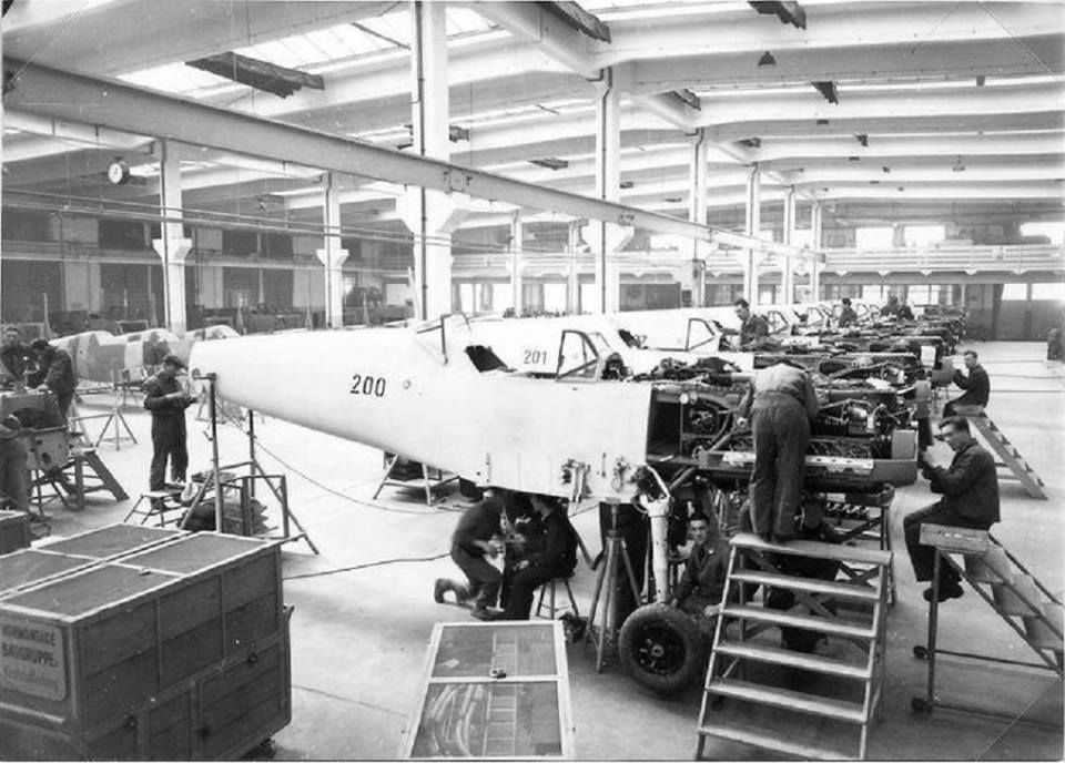 Pin on Messerschmitt BF 109