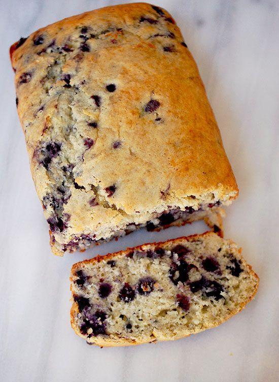 Eva Bakes - Lemon blueberry bread