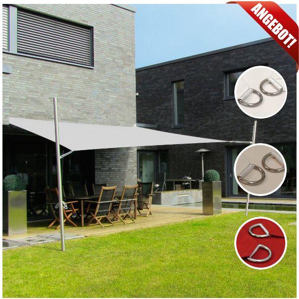 Gut bekannt Sonnensegel wasserfest/ regendicht 5x4m | újház | Sonnensegel ZF22