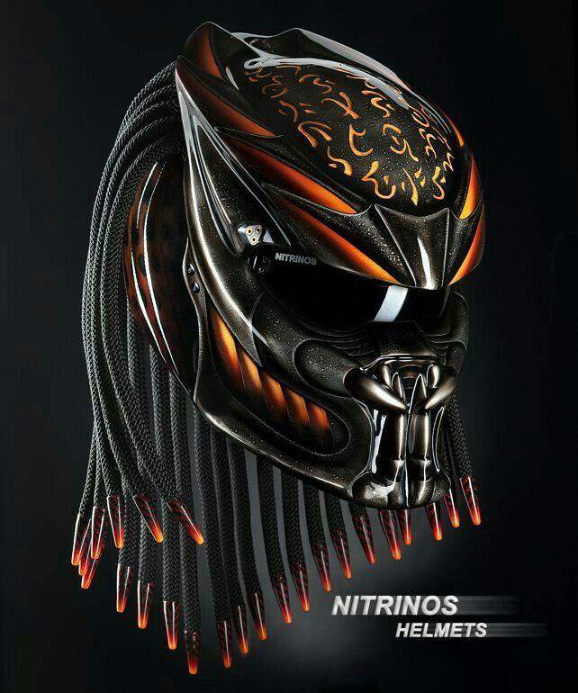 predator helmet d d armor clothing other equipment pinterest casque moto et masque. Black Bedroom Furniture Sets. Home Design Ideas