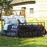 Wilderness Bed by Frontier Ironworks