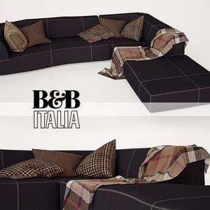 B&B italia bend sofa 3dmodel  99
