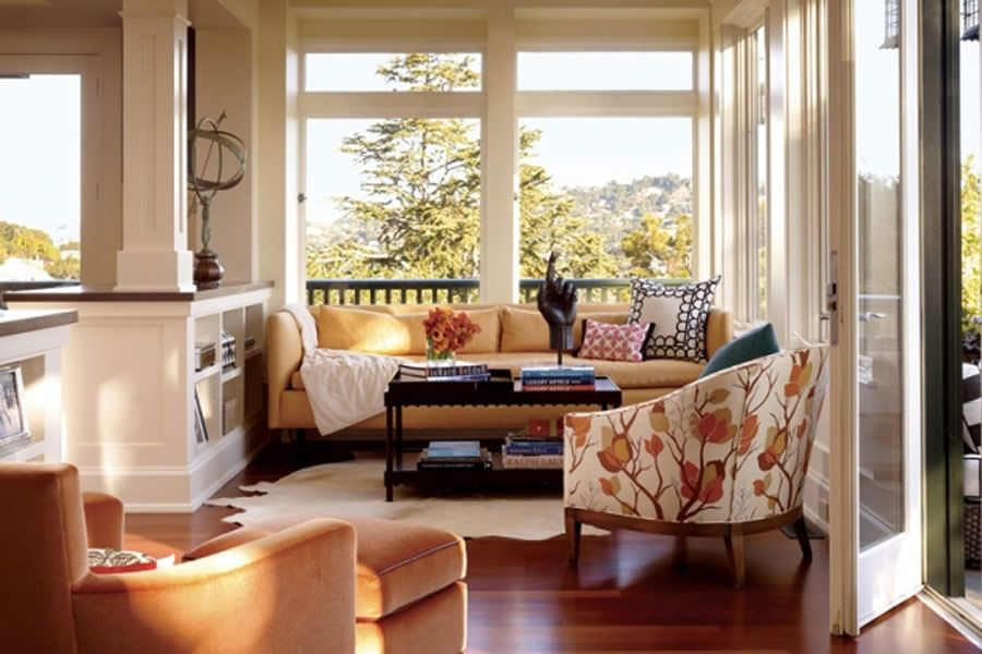Superbe Beautiful And Stylish Sunroom Interior Design Of The Peterson House By Ken  Fulk, San Francisco