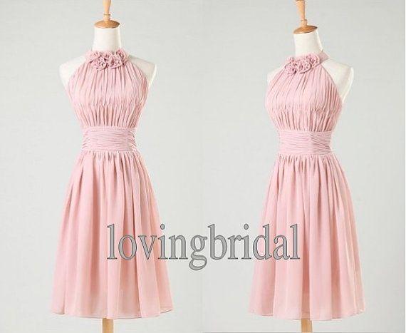 2014 Custom New Simple Short  chiffon prom dress Sweetheart elegant party  evening dresses Formal bridesmaid gown Homecoming wedding dress