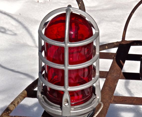 Caged Light Dome Light Industrial Lighting By Maxsuniquities Cage Light Dome Lighting Safety Lights