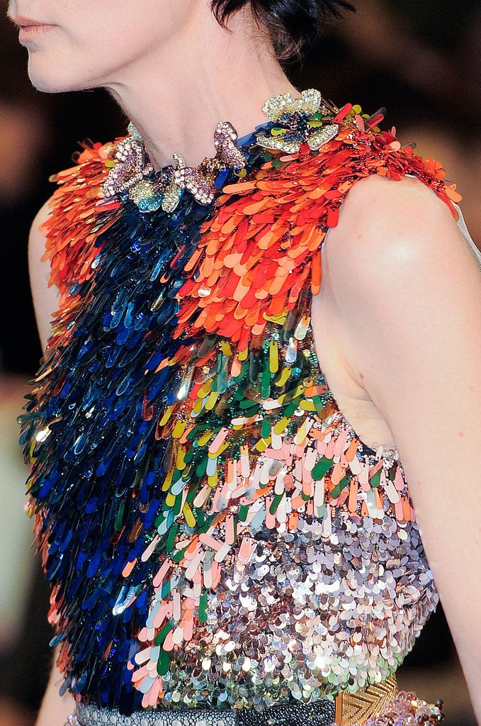 See the most gorgeous detail shots and closeups from Fashion Week - including this one from Givenchy