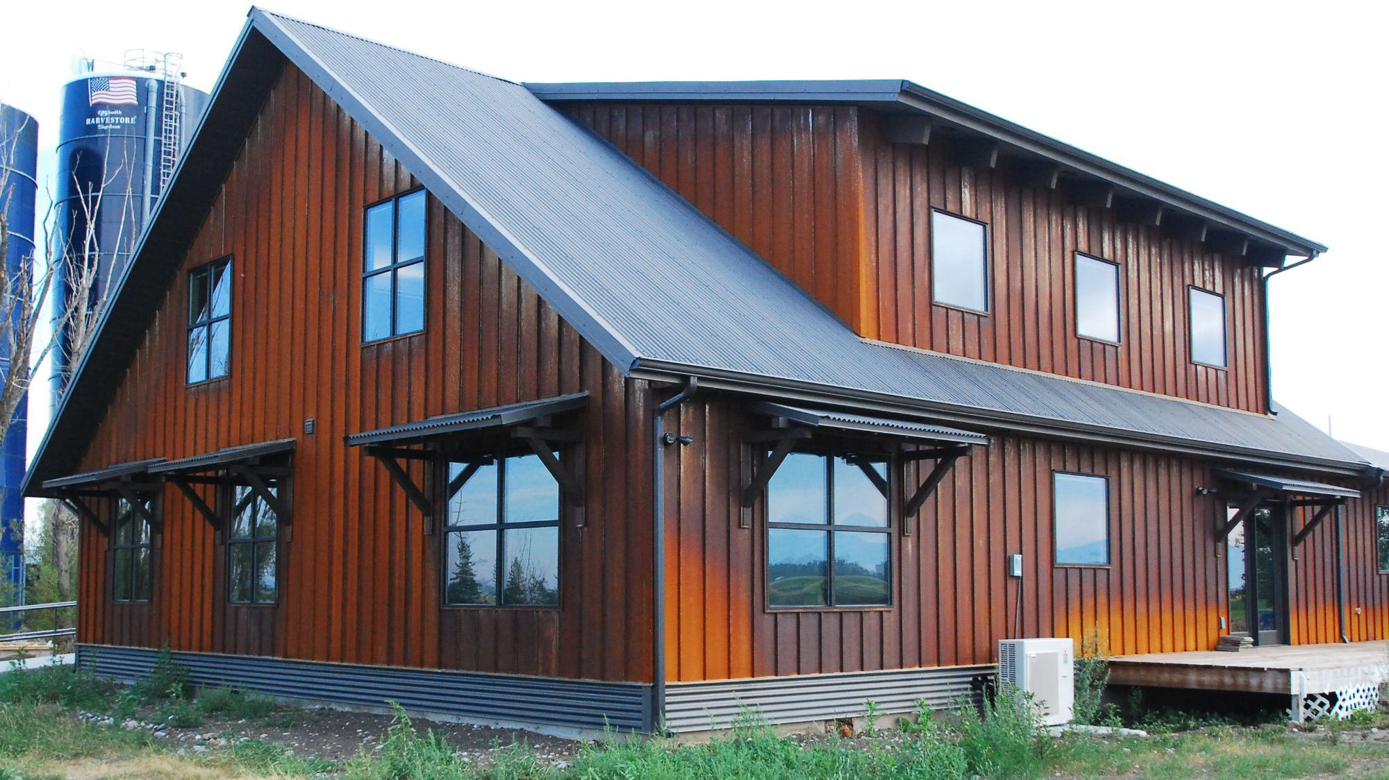 The Highly Durable Steel Siding By High Quality Siding Products House Siding Options Metal Building Homes Steel Building Homes