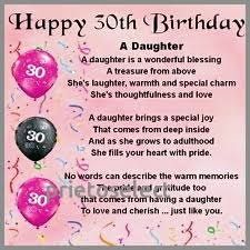 Image Result For 30 Birthday Wishes Daughter