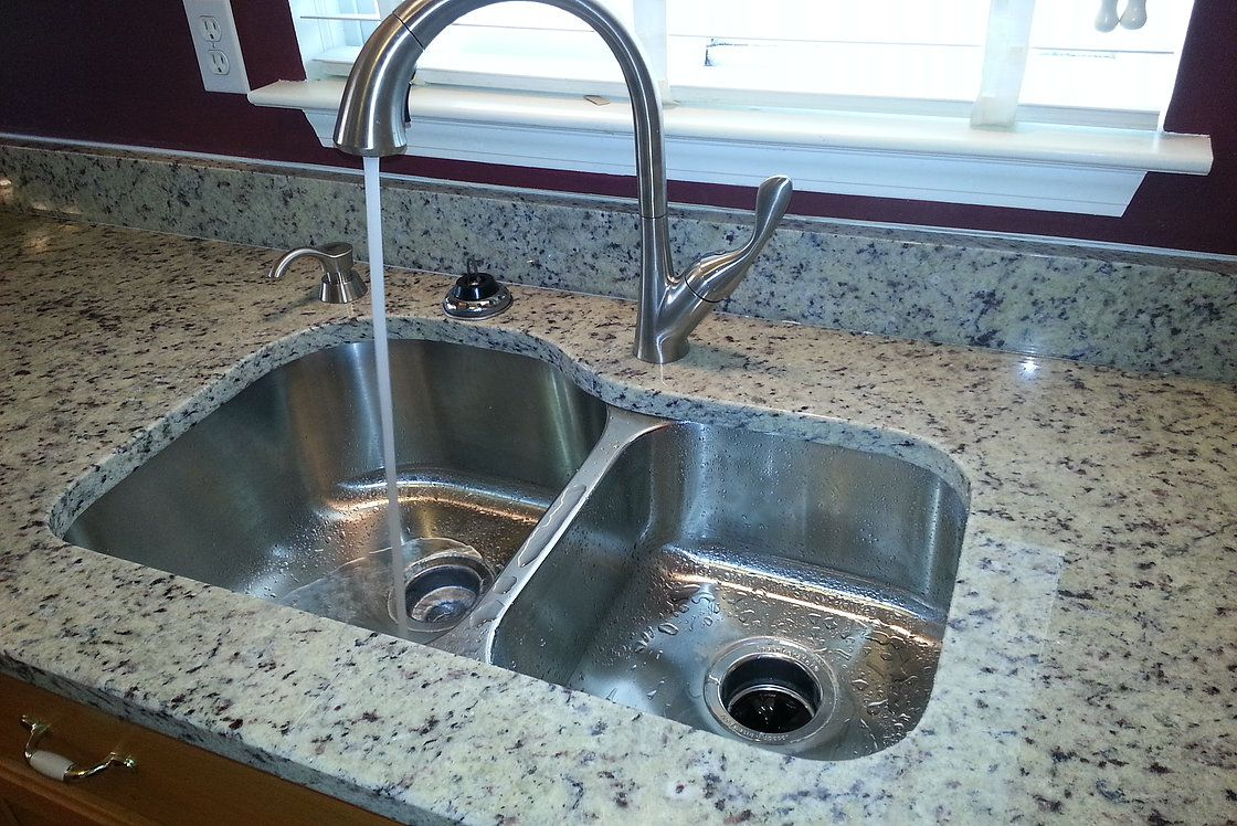 60/40 18GA Stainless Steel Sink   kitchen idead   Granite ... on laminate undermount sink, triple bowl kitchen sink, elkay undermount sink, blanco 40 60 sink, 24 kitchen sink, small round prep sink, stainless steel deep sink, best 16-gauge kitchen sink, 60 40 integrated kitchen sink, mosaic tile sink, double kitchen sink, large stainless sink, upc sink, double bowl apron front sink, low divide sink, extra large kitchen sink, 24 double bowl undermount sink, 60 40 stainless sink, offset kitchen sink,