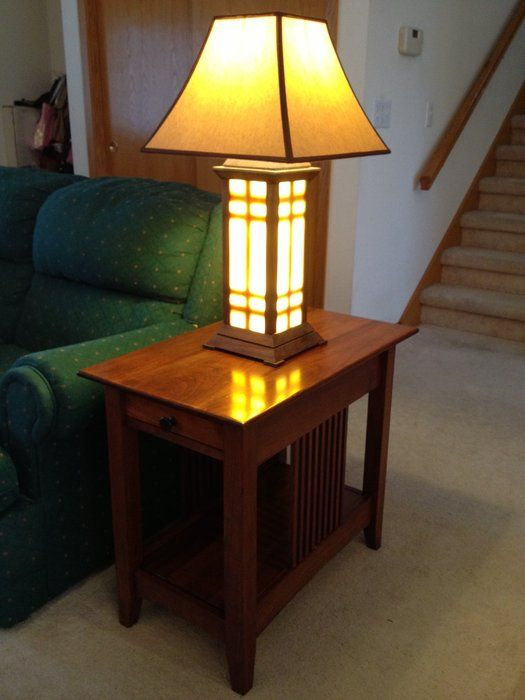 Lamps End Table Design Ideas