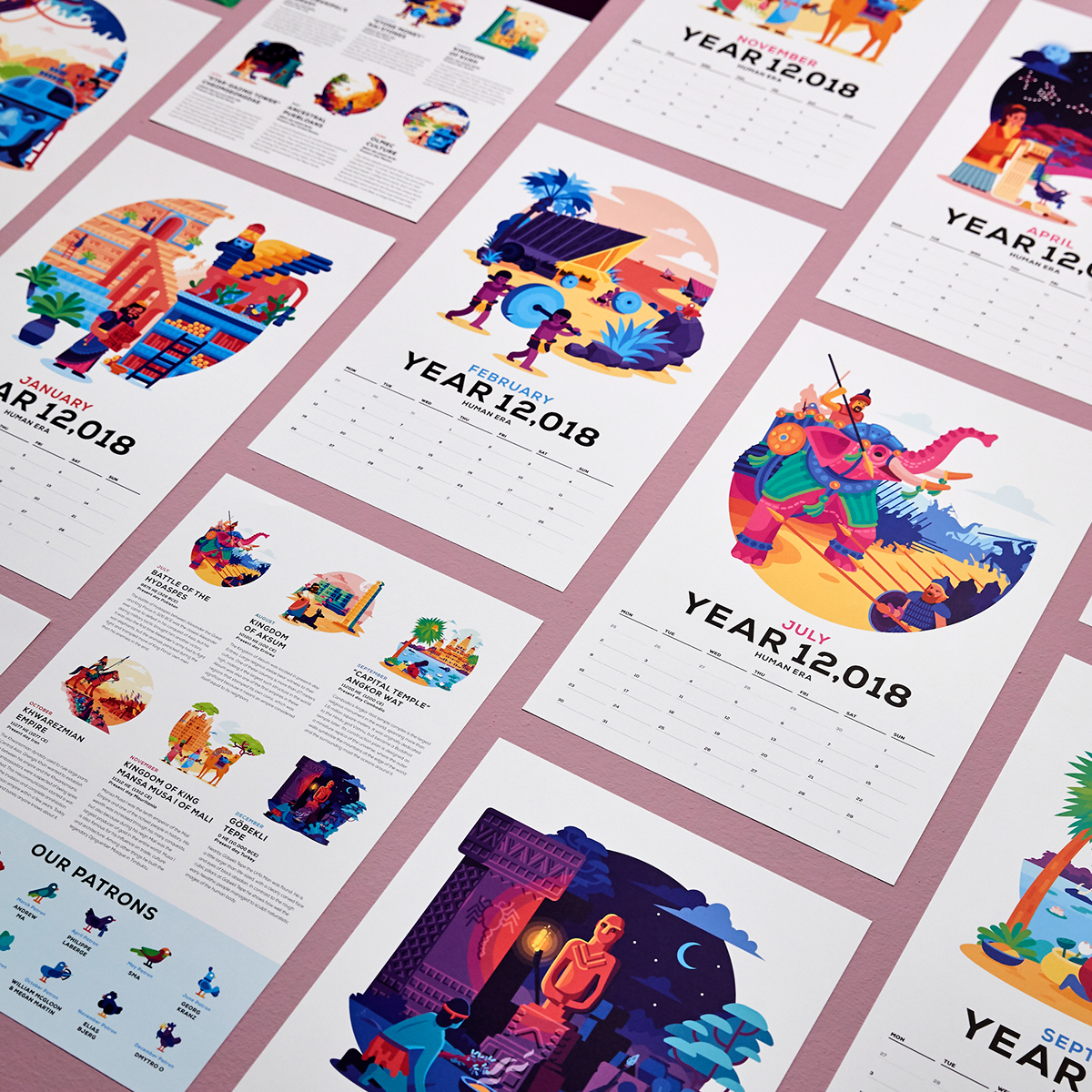 Images of Kurzgesagt 2021 Calendar