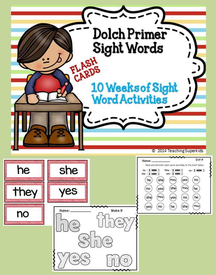 Dolch Primer Sight Words, Sight Word Practice, Flash Cards, Sight Word, Working with Words, Daily 5