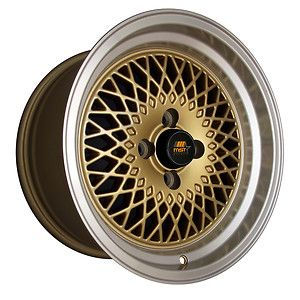 4 15 Mst Mt05 Gold Machined Lip Wheels Rims 15x8 20 4x114 3 Fits 240sx S13 Ebay Wheel Rims Wheel Rims