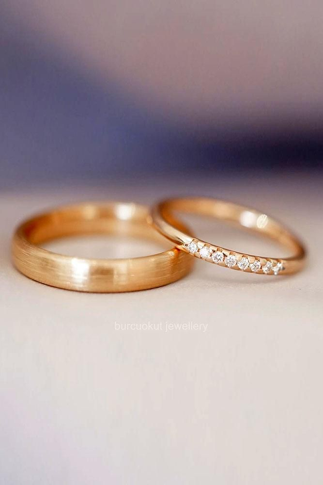 18 The Most Popular Matching Wedding Bands