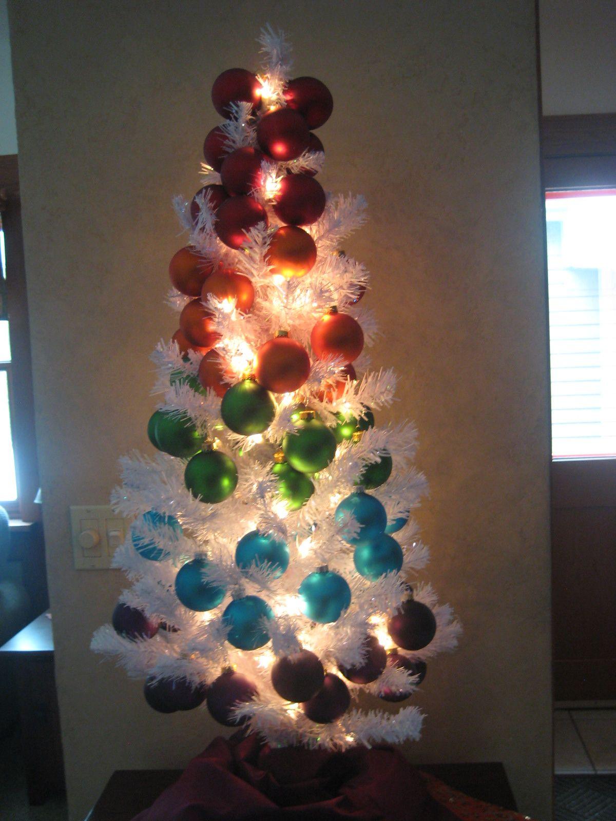 Little roygbiv inspired tree christmas pinterest