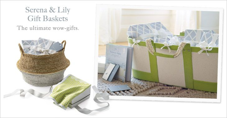 Gift baskets serena lily baby gift basket gift