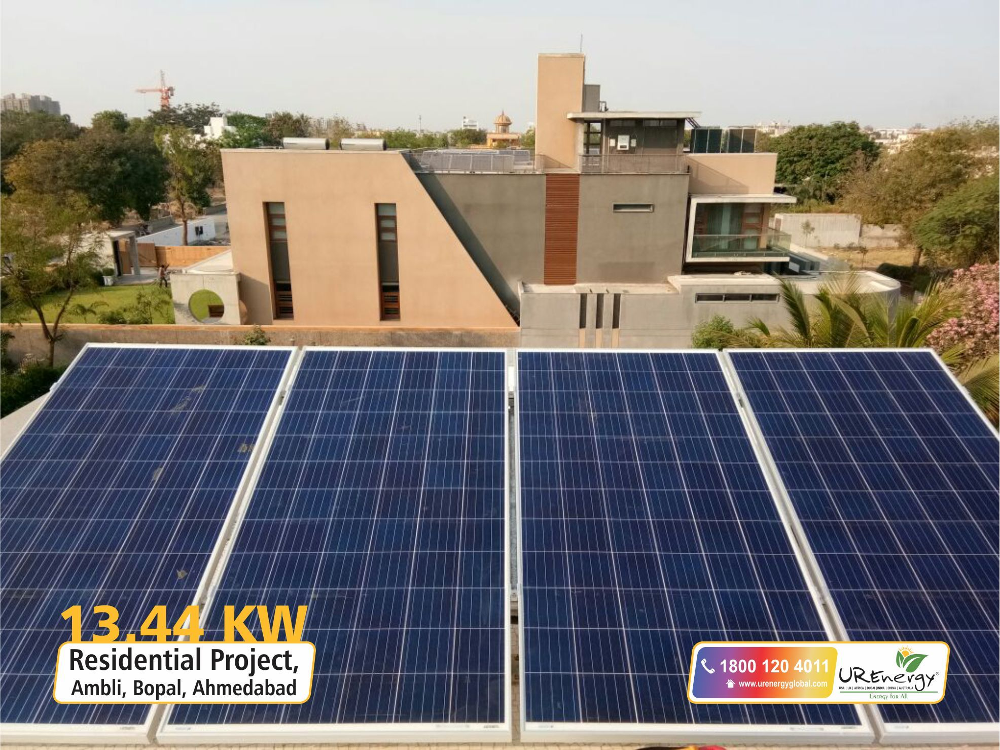 Rooftop Solar Panel Inverters Water Pump Solar Epc Gujarat India U R Energy Solar Solar House Solar Panels