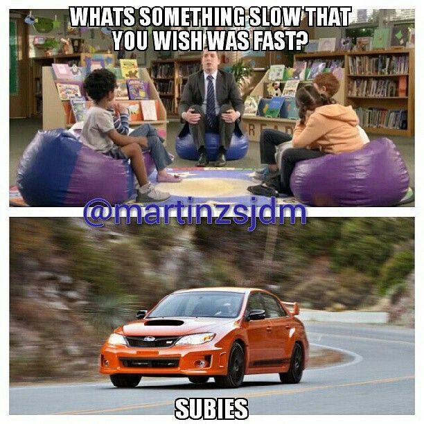 Subaru Car Meme Funny Subie Subies Car Memes