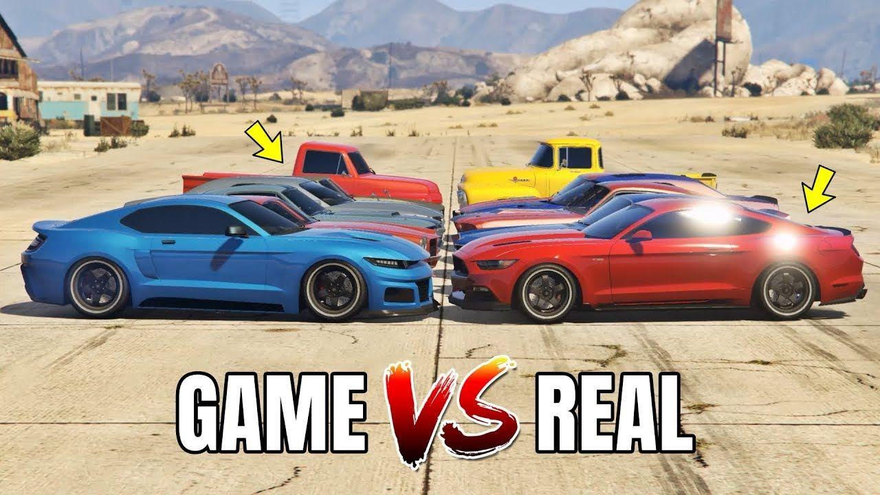 Gta 5 online gta 5 cars vs real life cars part 05