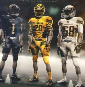 Hbcu Gameday Grambling Unveils Bold Bright New Uniform Hbcu Grambling Football Uniforms